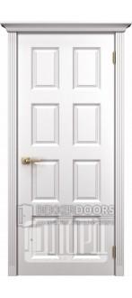 Дверь К-5 ПГ Белый снег