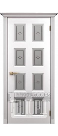 Дверь К-5 ПО Белый снег