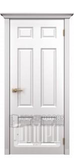 Дверь К-6 ПГ Белый снег