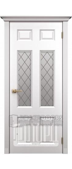 Дверь К-6 ПО Белый снег
