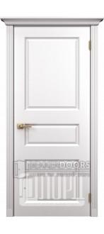 Дверь К-7 ПГ Белый снег