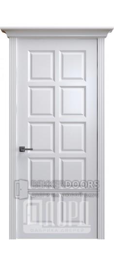 Дверь К-8 ПГ Белый снег