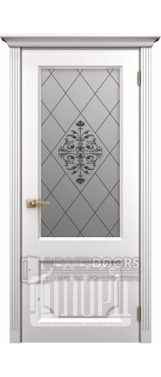 Дверь К-9 ПО Белый снег