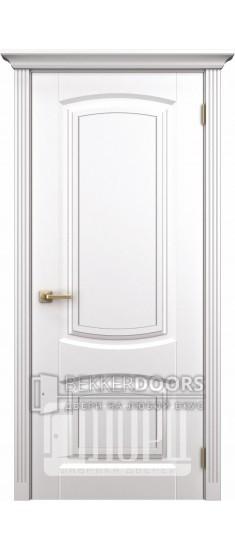 Дверь К-10 ПГ Белый снег