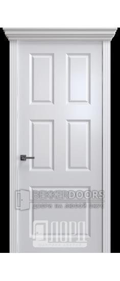 Дверь К-12 ПГ Белый снег