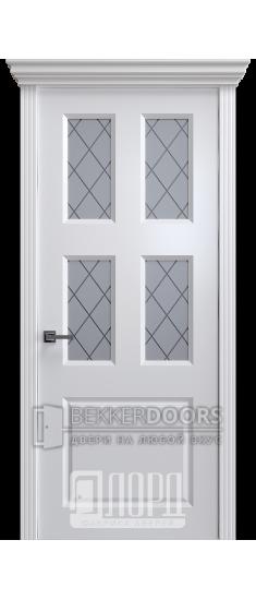 Дверь К-12 ПО Белый снег