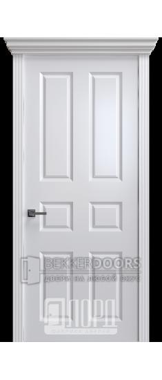 Дверь К-13 ПГ Белый снег