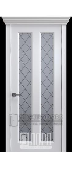 Дверь К-14 ПО Белый снег