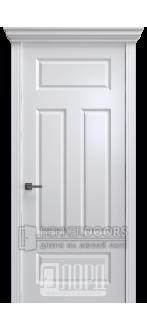 Дверь К-15 ПГ Белый снег