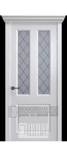 Дверь К-16 ПО Белый снег