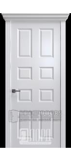 Дверь К-17 ПГ Белый снег