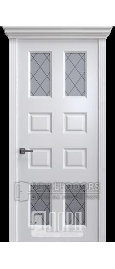 Дверь К-17 ПО Белый снег
