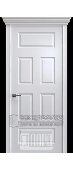 Дверь К-18 ПГ Белый снег