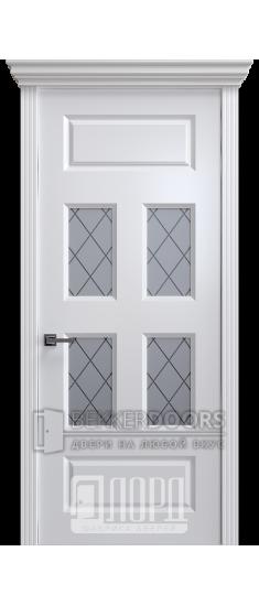 Дверь К-18 ПО Белый снег