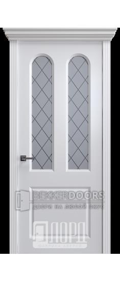 Дверь К-20 ПО Белый снег