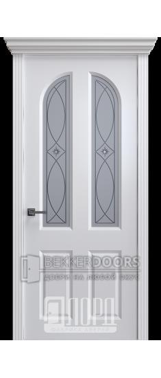 Дверь К-24 ПО Белый снег