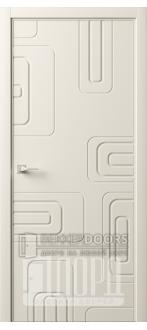 Дверь Италия-5 ДГ Слоновая кость