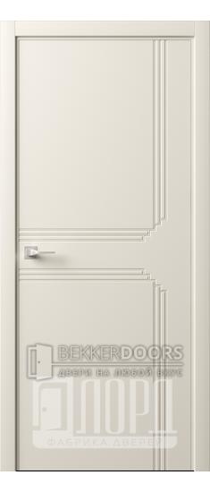 Дверь Италия-9 ДГ Слоновая кость