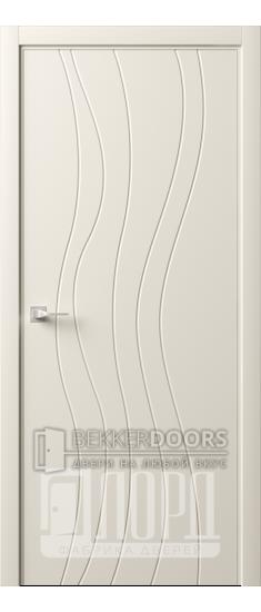 Дверь Италия-10 ДГ Слоновая кость