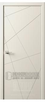 Дверь Италия-13 ДГ Слоновая кость