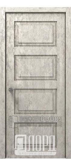 Дверь Асти-3 ДГ Велюр жемчужный