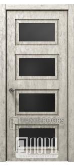 Дверь Асти-3 ДО Велюр жемчужный
