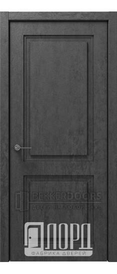 Дверь Монте-1 ДГ Велюр черный
