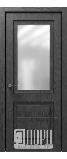 Дверь Монте-1 ДО Велюр черный