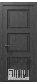 Дверь Монте-2 ДГ Велюр черный