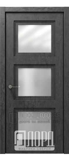 Дверь Монте-2 ДО Велюр черный