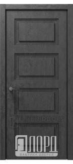 Дверь Монте-3 ДГ Велюр черный