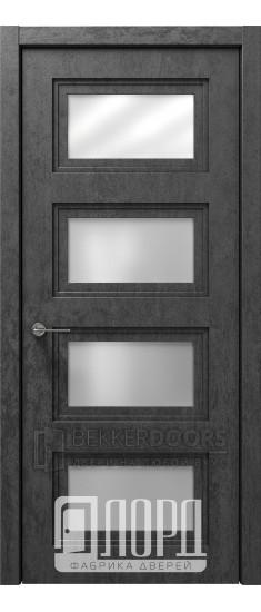 Дверь Монте-3 ДО Велюр черный