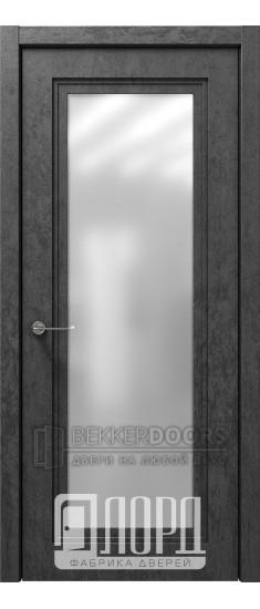 Дверь Монте-4 ДО Велюр черный