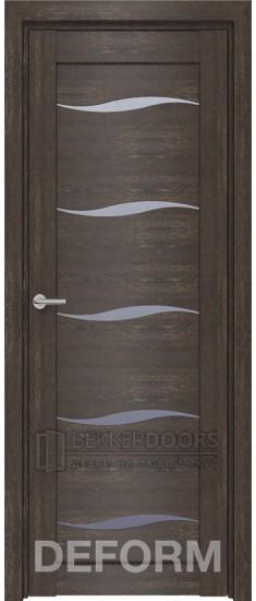 Дверь D1 ПО Дуб шале корица