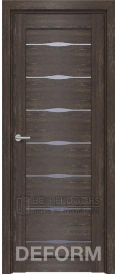 Дверь D3 ПО Дуб шале корица