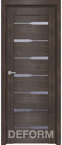 Дверь D4 ПО Дуб шале корица