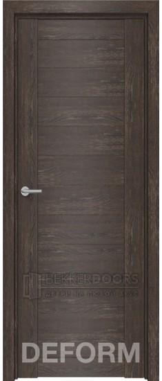 Дверь D10 ПГ Дуб шале корица