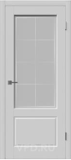 Дверь Шеффилд ДО Эмаль светло-серая