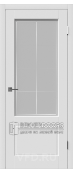 Дверь Шеффилд ДО Эмаль белая