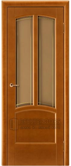 Дверь Виола ПО Медовый орех