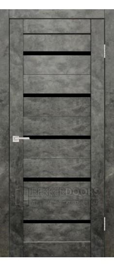 Дверь Танго ПО Бетон графит