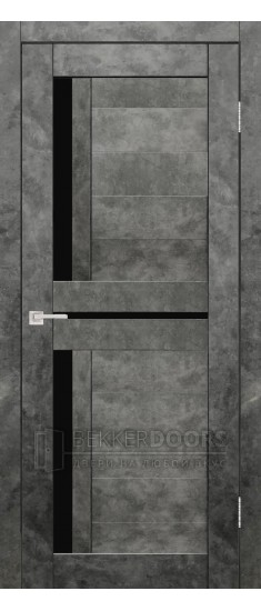 Дверь Твист ПО Бетон графит