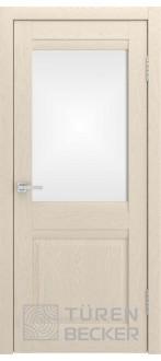 Дверь S8 ПО Ясень капучино Стекло матированное