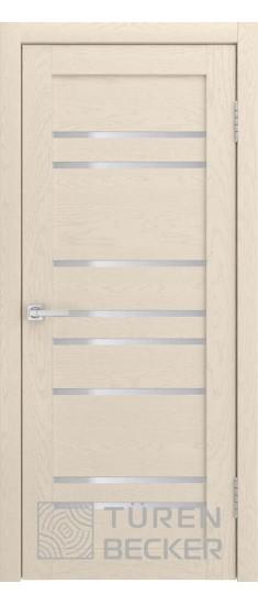 Дверь S53 ПО Ясень капучино