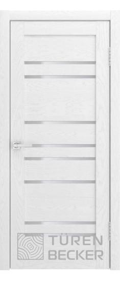 Дверь S53 ПО Ясень белый