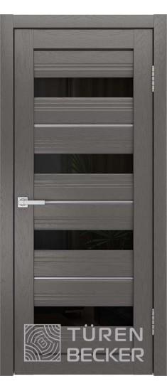 Дверь S41 ПО Ясень графит