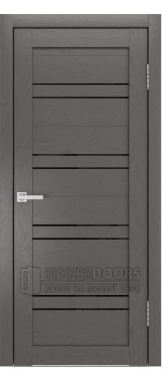 Дверь Кантри ПО SOFT TACH Ясень графит