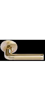Дверная ручка MH-03 SG/GP матовое золото/золото