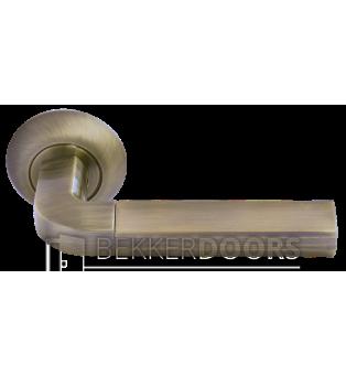 Дверная ручка MH-11 MAB/AB матовая античная бронза/античная бронза