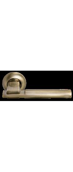 Дверная ручка MH-13 MAB/AB матовая античная бронза/античная бронза